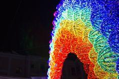 LUCI D'ARTISTA 2011. Stelle cadenti, Lanterne magiche e l'Arcobaleno Salerno, Novembre 2011 - Gennaio 2012