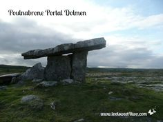 Poulnabrone Portal Dolmen, The Burren, Ireland - read the story at www.tootsweet4two.com.