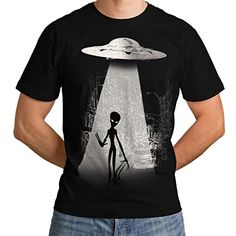 Wellcoda   Alien Ghost Life Mens NEW UFO Spacecraft Black T-shirt XXXXXL Wellcoda http://www.amazon.co.uk/dp/B01BGWV2HU/ref=cm_sw_r_pi_dp_-aqexb0Y41A8C