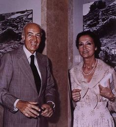 Basil and Elise Goulandris.Image: Courtesy of the Basil and Elise Goulandris Foundation.com