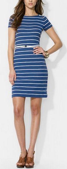 Stripe boatneck dress http://rstyle.me/n/hzyr9nyg6