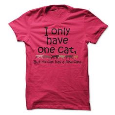 I Only Have One T Shirts, Hoodies. Check price ==► https://www.sunfrog.com/Pets/I-Only-Have-One.html?41382 $21