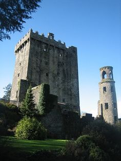 Blarney Castle, Blarney, Ireland.  Dating from 1446, it is the home of the Blarney Stone.