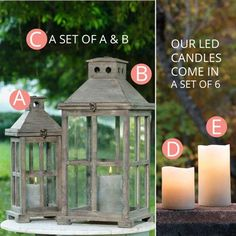 http://www.decorsteals.com/reclaimed-wood-lanterns-and-wax-led-candles-pick-your-size.html