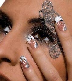#KimsKieNails: make Up & NAils
