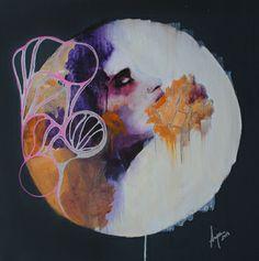 "My work @Saatchi Art Artist #unamorte ; Painting, ""Ataxia II"" #art"