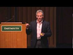 """Jon Kabat-Zinn talks on """"The Healing Power of Mindfulness,"""" at the Hitchcock Medical Center in Dartmouth College."""