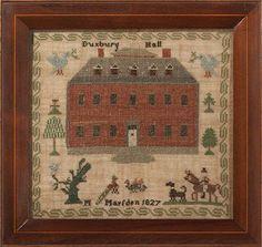 M. Marsden Duxbury Hall, England, 1827 $6800