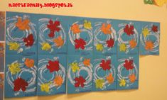 MaestraEmily: SCOPRENDO L'ARIA Fall Preschool Activities, Thanksgiving Preschool, Preschool Art, Art Activities, Autumn Art, Autumn Theme, Acorns To Oaks, Fall Crafts, Arts And Crafts