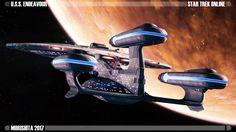 New Frontiers by Kurumi-Morishita on DeviantArt Stark Trek, Star Trek Online, Starfleet Ships, Star Trek Images, Arte Dc Comics, Star Trek Starships, Star Wars, Star Trek Ships, Star Trek Universe
