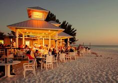 SANDBAR Waterfront Restaurant Anna Maria Island - Have Dinner and watch the sunset