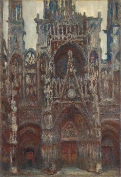 Claude monet The Portal of Rouen Cathedral