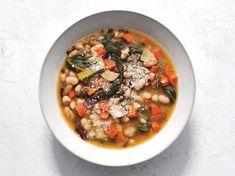 Instant Pot Tuscan White Bean and Lentil Soup Recipe - Cooking Light Crockpot Recipes, Soup Recipes, Healthy Recipes, Easy Recipes, Lentil Recipes, Healthy Meals, Salad Recipes, Dinner Recipes, White Bean Soup