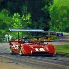 1969 Can Am Road America  Michael Turner