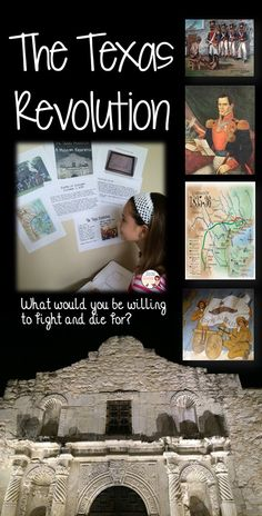 The Texas Revolution - Alamo -  Take your students through the Texas Revolution as they visit four different stations in a museum-like experience. At each station, your students will be exposed to primary source images, quotations, maps and readings as they learn about the key events in the Texas Revolution.