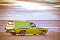 The Sandman panel van is an Aussie icon, very popular with the surfers back in its day and is now a collectors item.