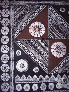 Masi (Bark Cloth) Fiji Museum, Suva, Fiji Photographic Print by David Wall at Art.com