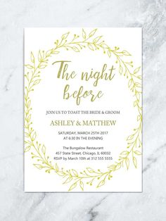 3085b8945a5 25+ Exclusive Photo of Wedding Rehearsal Dinner Invitations