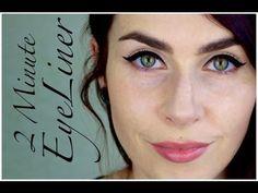 2-minute eyeliner
