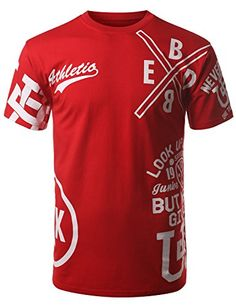 URBANCREWS Mens Hipster Hip Hop Athletic One Team One Dream T-shirt RED LARGE URBANCREWS http://www.amazon.com/dp/B00TT6ELBU/ref=cm_sw_r_pi_dp_dieFvb1YYNN6C