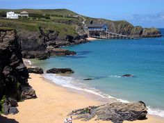 Mother Ivey's Bay Beach in Cornwall, Cornwall