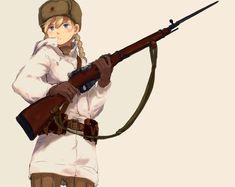anime girls with weapons Anime Military, Military Girl, Natalia Poklonskaya, Guerra Anime, Character Art, Character Design, Warframe Art, Anime Weapons, Digital Art Girl