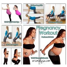 Workout for pregnant women!
