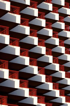 Balconies by Ville Hyhkö on architecture Minimalist Architecture, Facade Architecture, Computer Architecture, Architecture Tattoo, Architecture Student, Color Composition, Architectural Pattern, Balkon Design, Minimal Photography