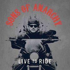 NYA Sons of Anarchy: Bo för att rida genom Inbunden bok gratis frakt