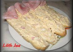 Pikantní vajíčková pomazánka recept - TopRecepty.cz Ham, Vitamins, Food And Drink, Appetizers, Healthy Recipes, Healthy Food, Bread, Cheese, Cooking