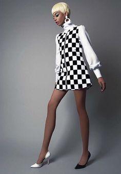 Naomi Smalls - nice 60s vibe!