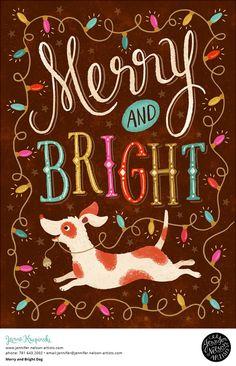 Merry Dog — Jennifer Nelson Artists