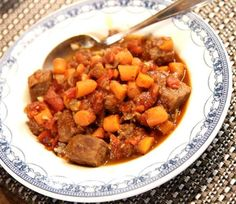 Recipe: Jerk Beef Stew with Carrots and Tomatoes