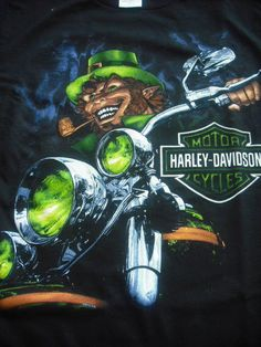 - what I like in bikes and cars - St Patricks Day Pictures, Happy St Patricks Day, Green Motorcycle, Motorcycle Art, Biker Quotes, Motorcycle Quotes, Harley Davidson Logo, Harley Davidson Motorcycles, Wolf
