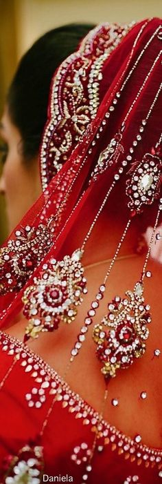 Lady world ~ India Oriental Fashion, Indian Fashion, Oriental Style, India Colors, Pin Logo, Indian Bridal, Beautiful World, Glamour, Bride