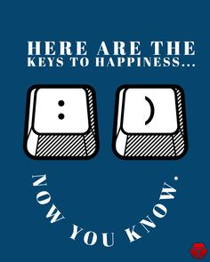 """People have asked: """"What are the keys to happiness?"""" Here it is.  Share the happiness with others : )  #happiness #webdesign #computer Key To Happiness, Keys, Lion, Web Design, Content, Heart, Happy, People, Leo"""
