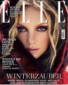 Heather Marks - Elle Magazine Cover [Germany] (December 2016)