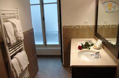 Marble wash basins & towel warner