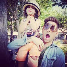 Adam Lambert and his godson, Riff Cherry | Source: Adam Lambert instagram
