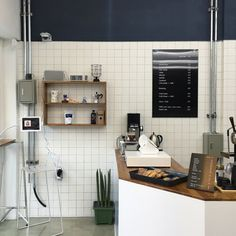 Interior Design For Bathroom Product Diy Interior Doors, Cafe Interior, Interior Design, Cafe Restaurant, Restaurant Design, Korean Cafe, My Coffee Shop, Coffee Shops, Cafe Concept