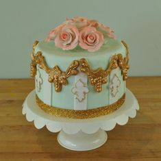 rococo cake design | September Cake Decorating Classes at Charm City Cakes