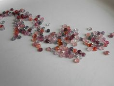 Multi Colored Spinel AAA gemstone beads!