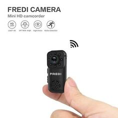 HD Wireless WIFI Spy Hidden IP Security Camera Mini DV Recorder DVR Night Vision