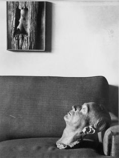 André Kertész, Self Portrait in My Apartment, 1963