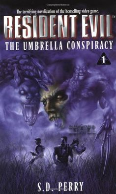 The Umbrella Conspiracy (Resident Evil #1) by S.D. Perry http://www.amazon.com/dp/0671024396/ref=cm_sw_r_pi_dp_mzltxb0BZKXYP