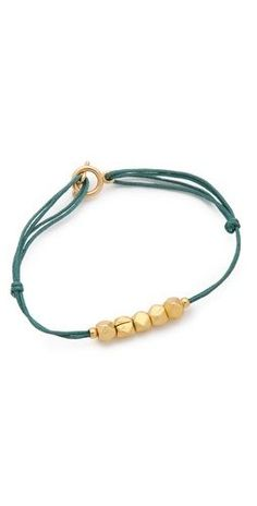 Shashi Gigi Bracelet..looks really simple but several together would be awesome.