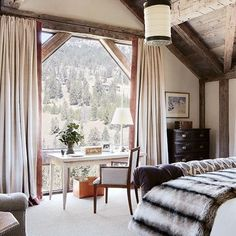 10 Rustic Bedrooms : Architectural Digest