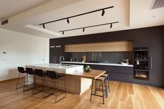 Modern bar stools kitchen modern with timber island bench modern bar stool