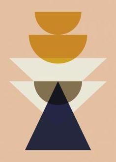 Ferm Living poster maya peach 50 x 70 cm Illustration Sketches, Digital Illustration, Illustrations Posters, Modern Art Prints, Simple Art, Easy Art, New Art, Sculpture Art, Painting Prints