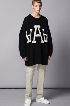 Acne Studios Spring/Summer 2015 Collection image Acne Studios Men 2015 Spring Summer Collection Look Book 001